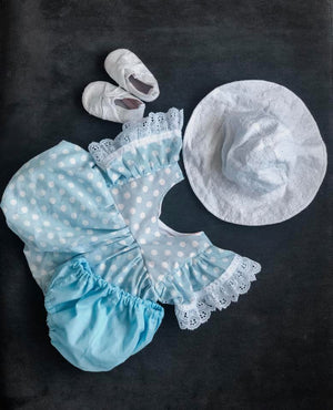 Solid Baby Blue Bloomers