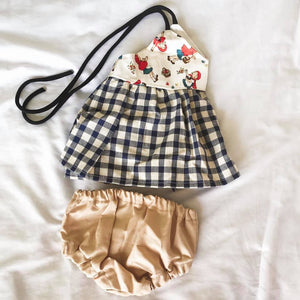 Cream Bloomers