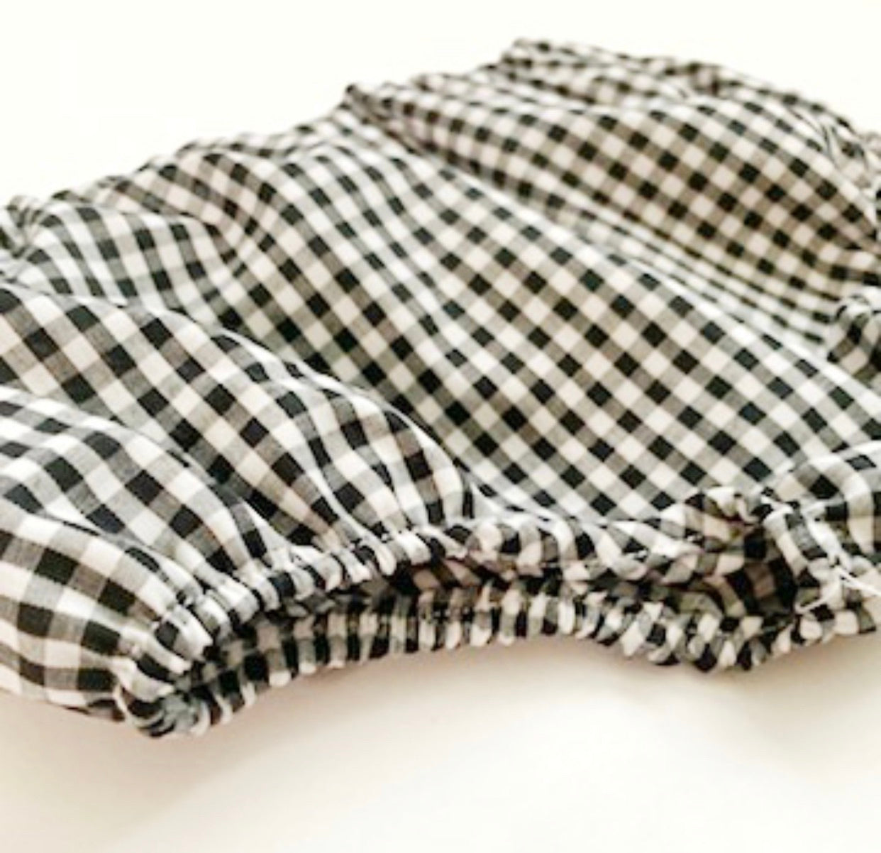 Black Gingham Bloomers