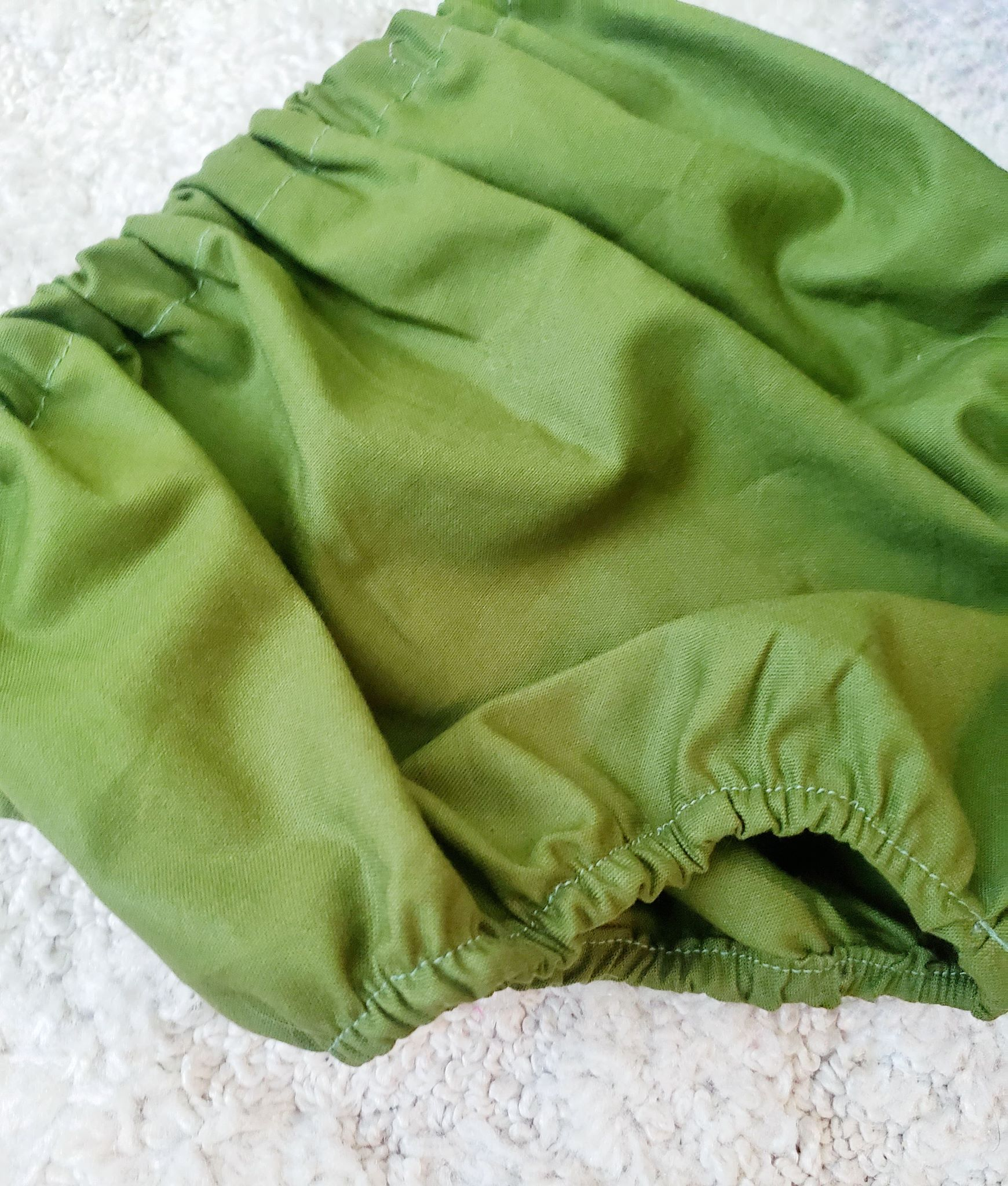 Olive Solid Bloomers