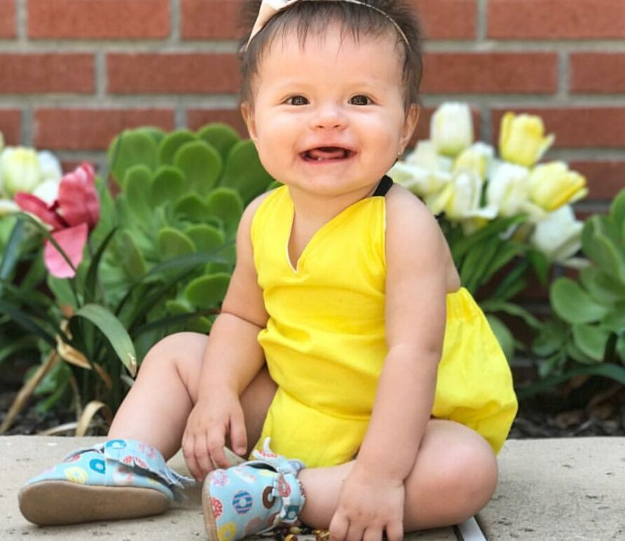 Sunshine Yellow Solid Romper