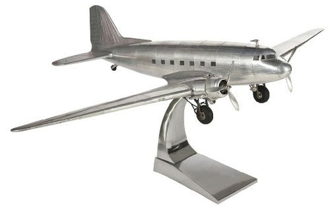 Douglas DC3 Dakota (Aluminium Airplane Fully Built Model) (Authentic Models AP455)