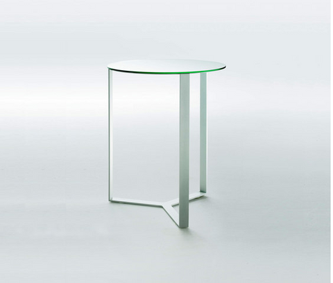 Clip Coffee Table by Giulio Marelli (Shiny chrome Metal)