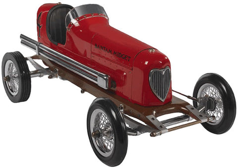 Bantam Midget Aluminum Model Tether Car Spindizzy 1930s Replica
