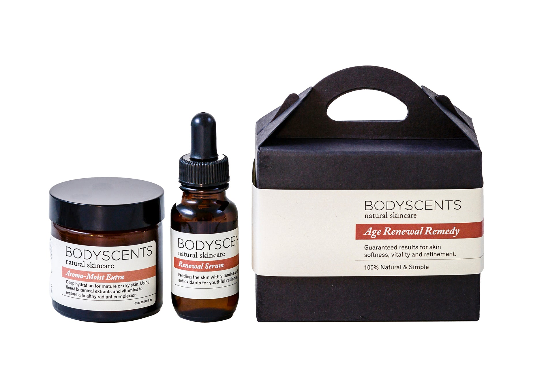 Age Renewal Remedy - Best Face Cream and Face Serum included - Bodyscents