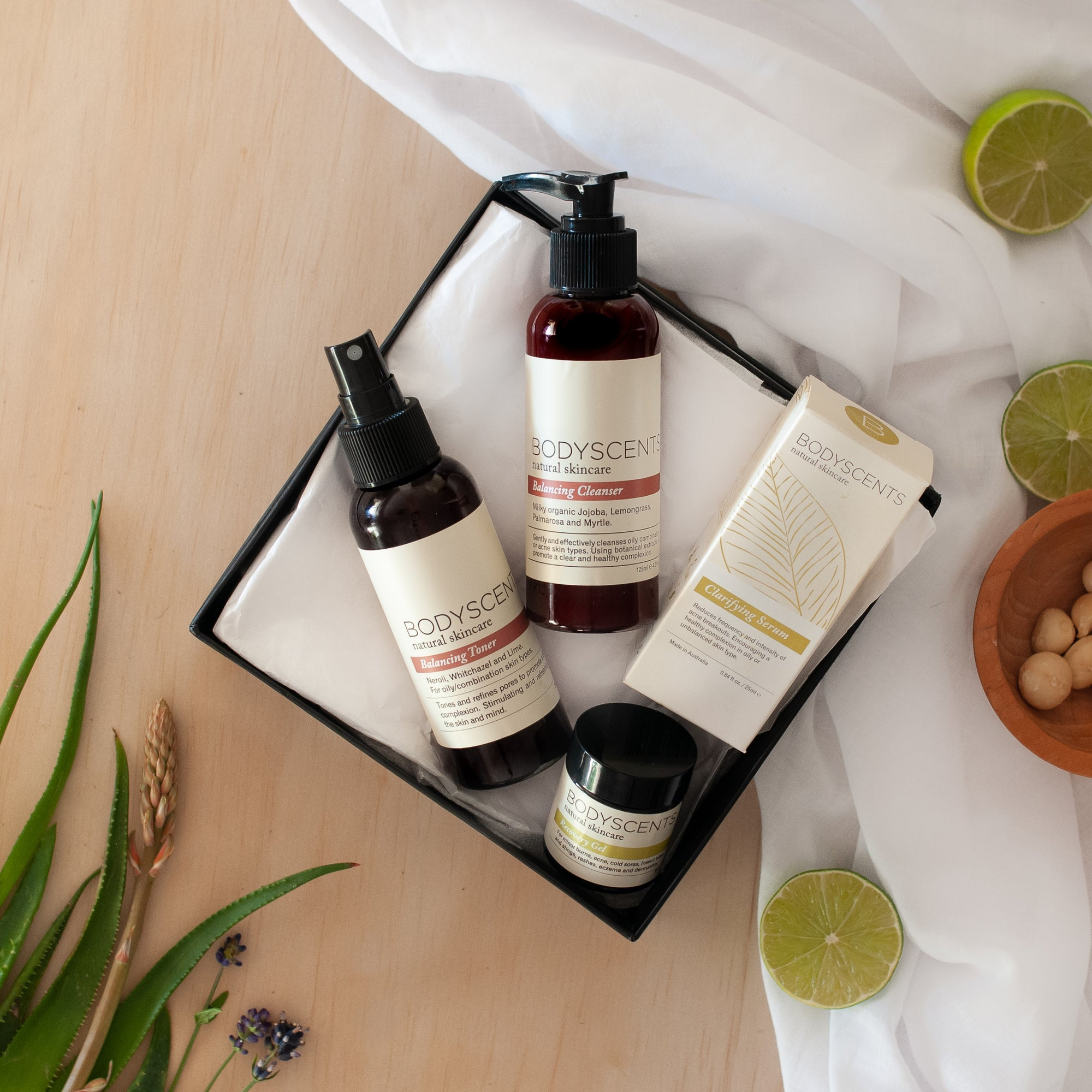 Aloe Tea Daily Ritual Set - Bodyscents