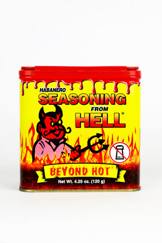 Seasoning | Habanero Seasoning From Hell