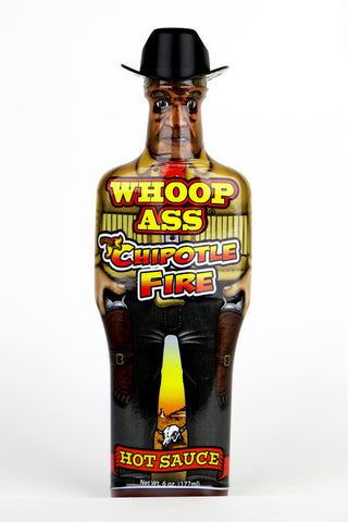 Whoop Ass Chipotle Fire Hot Sauce