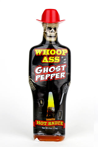 Whoop Ass Ghost Pepper Hot Sauce