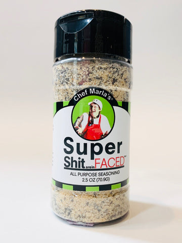 Super Shit arein Faced Seasoning