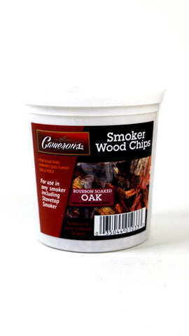 Smoker Wood Chips | Bourbon Soaked Oak