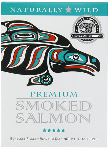Alaska Smokehouse Smoked Salmon Fillet