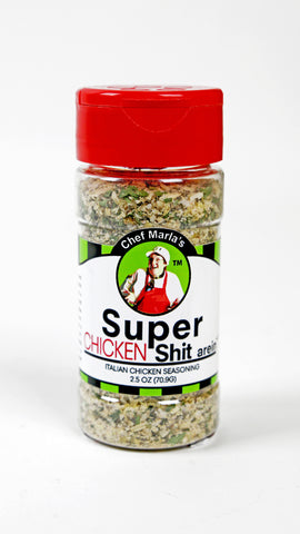Super Chicken Shit arein Seasoning