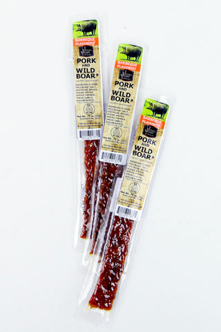Barbecue Pork & Wild Boar Jerky