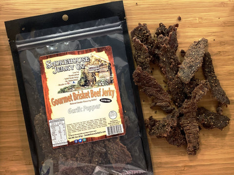 Jerky | Beef Brisket | Garlic Pepper