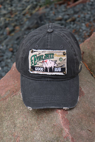 Good Rub Hat - Charcoal