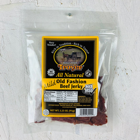 All Natural Mild Old Fashion Beef Jerky
