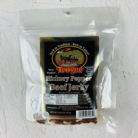 Hickory Pepper Beef Jerky