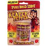 Pure Bred Idiot Pure Ground Carolina Reaper Pepper 850,000 SHU