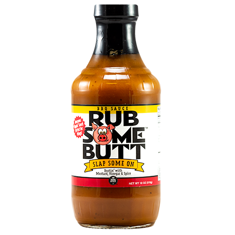 Rub Some Butt Carolina BBQ Sauce