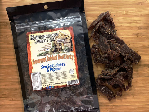 Jerky | Beef Brisket | Sea Salt Honey & Pepper