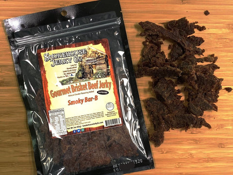 Smoky Barbecue Beef Brisket Jerky