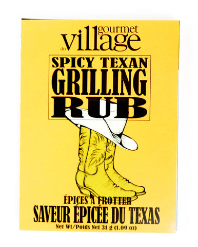 Spicy Texan Grilling Rub