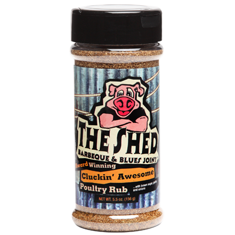 The Shed-Cluckin' Awesome Poultry Rub
