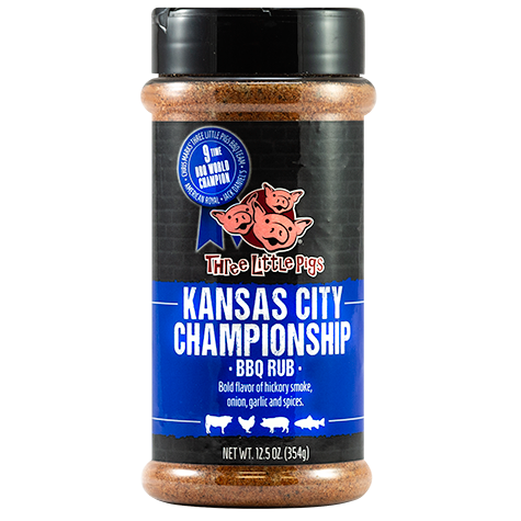 Three Little Pigs Kansas City Championship BBQ Rub