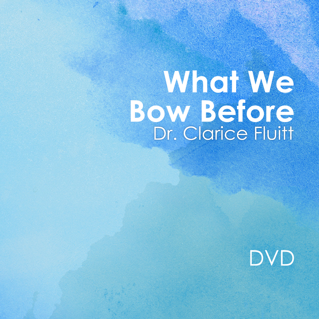 What You Bow Before DVD