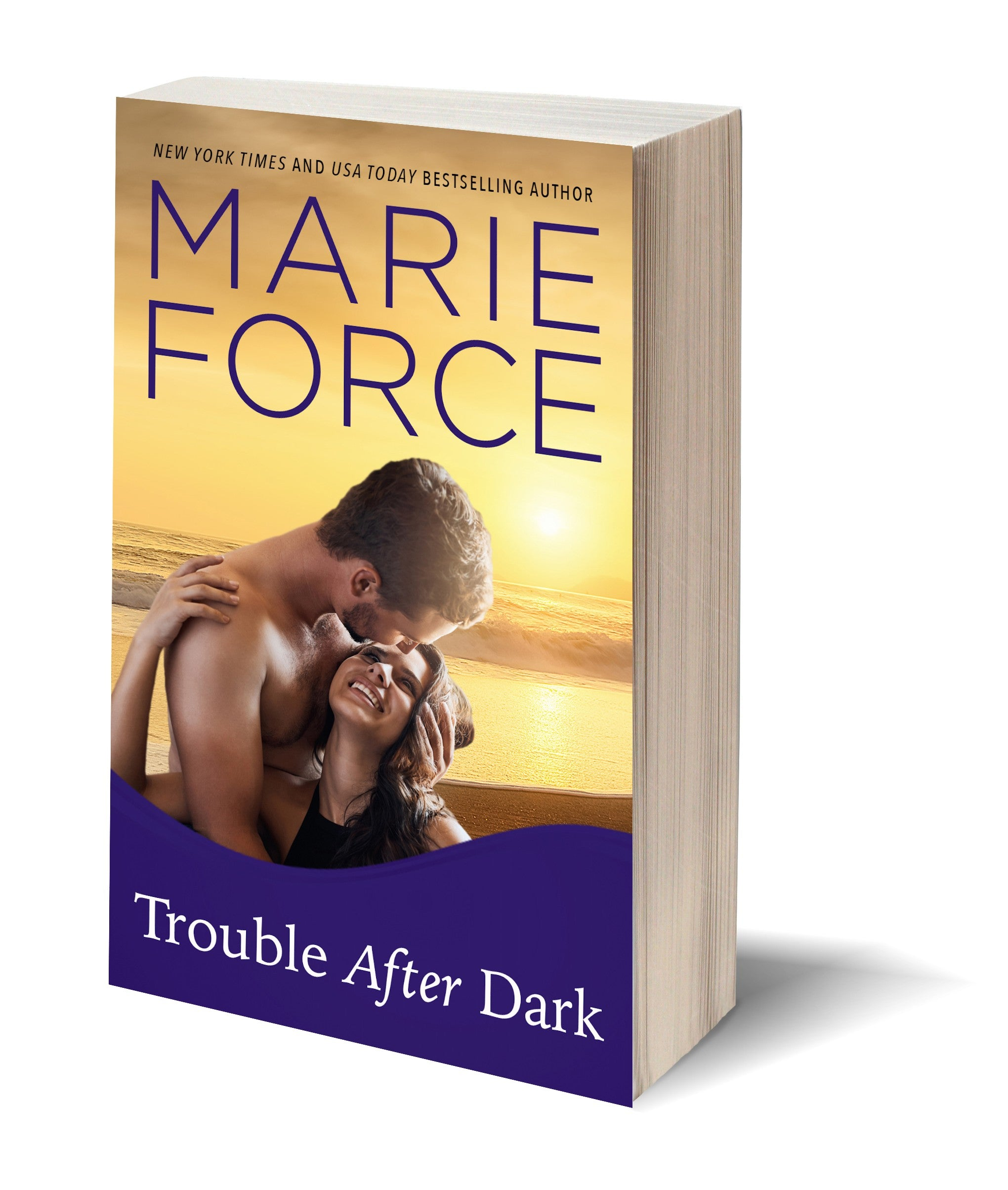 Trouble After Dark, Gansett Island Series, Book 21