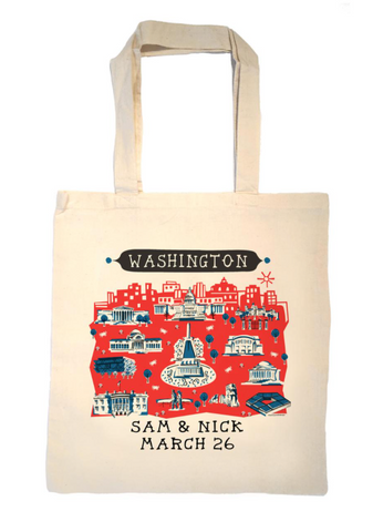 First Family Change of Address Tote Bag