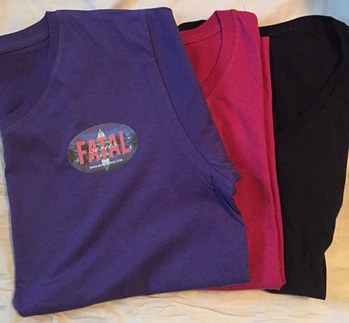 Fatal Series V-neck T-shirt