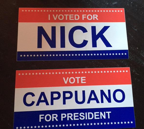 Nick Cappuano Stickers