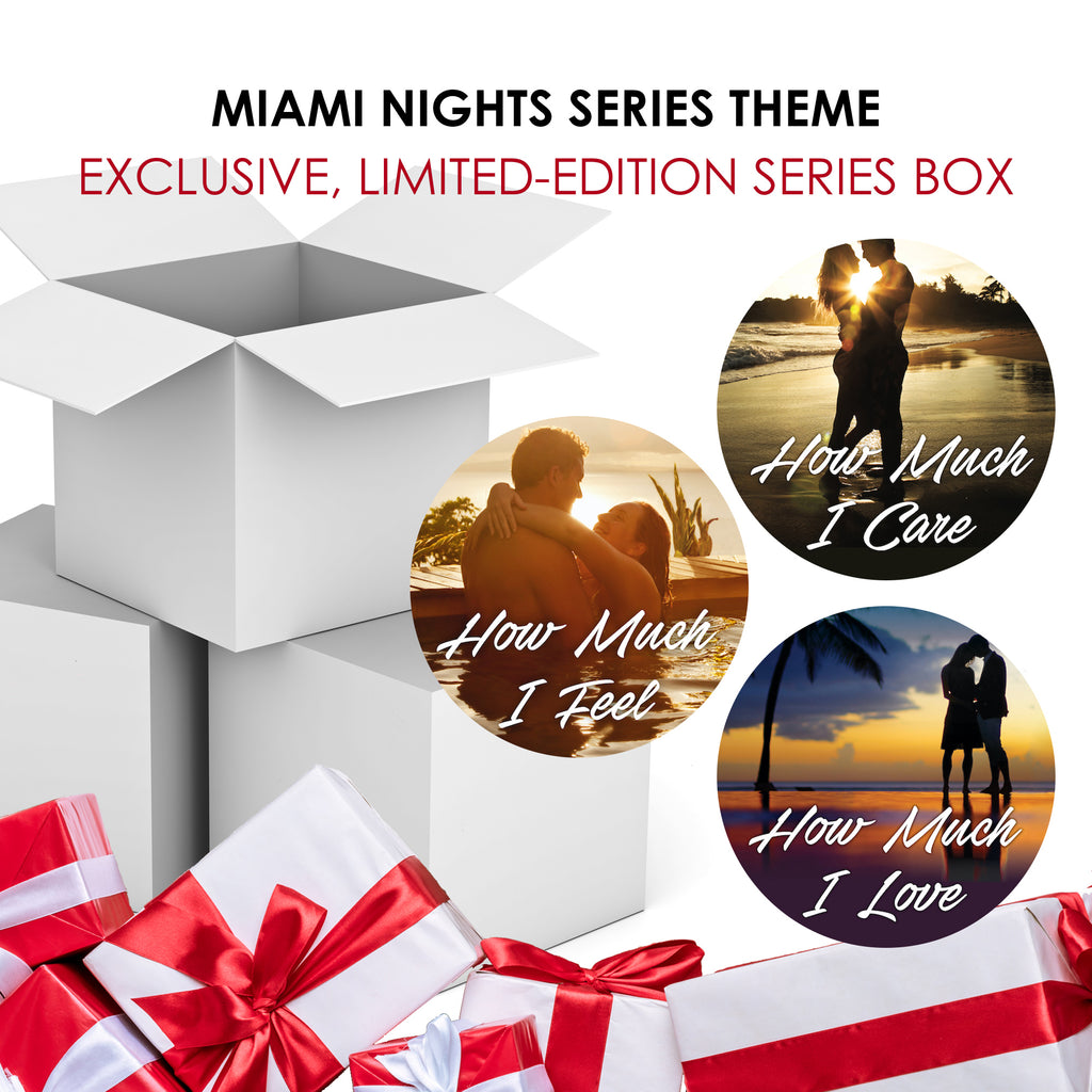 Miami Nights Series Box with THREE Signed Books (PREORDER)