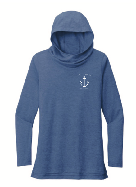 Gansett Island Long Sleeve Hooded T-shirt