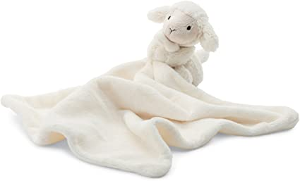 Bashful Lamb Soother/Blanket
