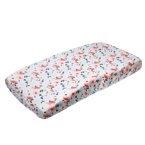 Copper Pearl Changing Pad Cover-Leilani