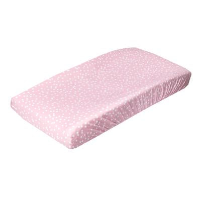 Copper Pearl Changing Pad Cover-Lucy