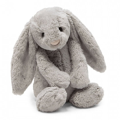 Bashful Grey Bunny-Medium