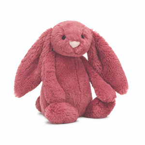 Bashful Dusty Pink Bunny-Medium