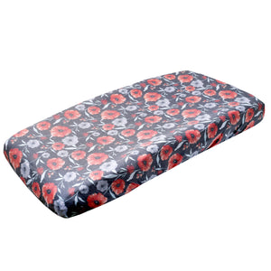 Changing Pad Cover-Poppy