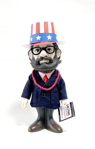 ALLEN GINSBERG FIGURINE + CD SET