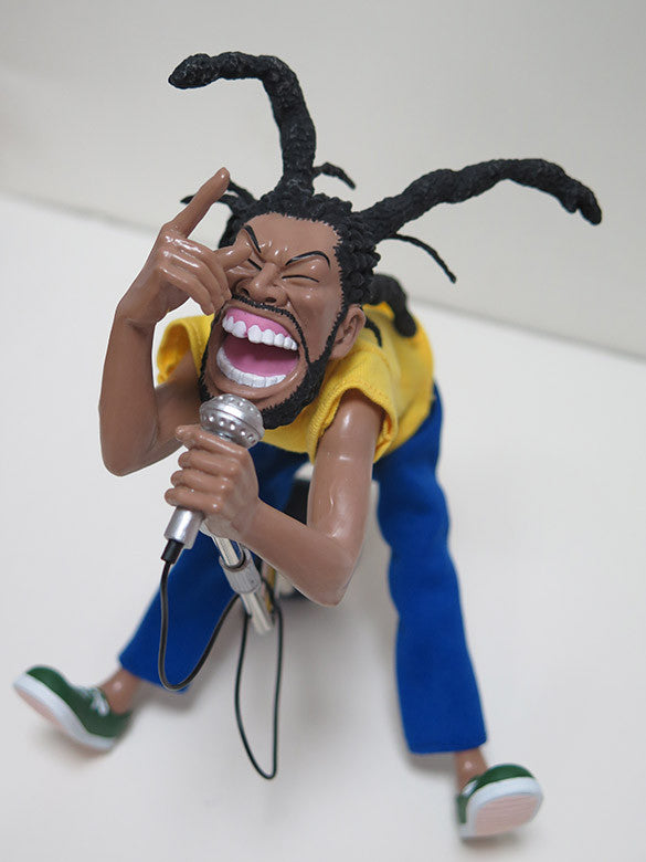 H.R BAD BRAINS STATUETTE ABS//PVC FIGURE BY PRESS POP SOF/'BOY TOMOHIRO YASUI