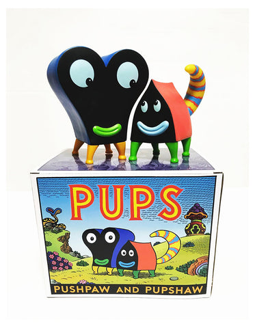 "JIM WOODRING ""Pupshaw and Pushpaw"""