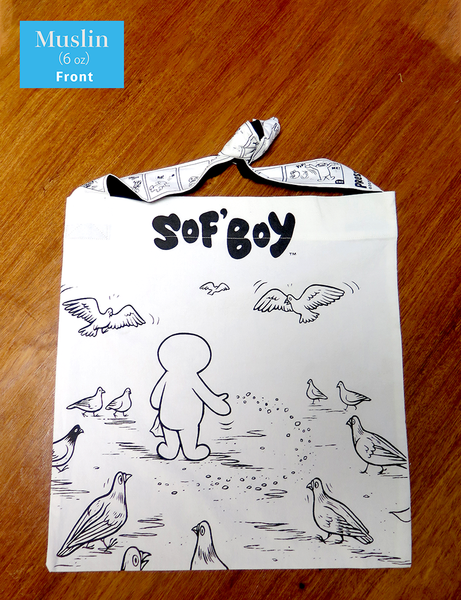 "ARCHER PREWITT  ""SoF'Boy Tote Bag"" (""Pidgy""2020 version)"