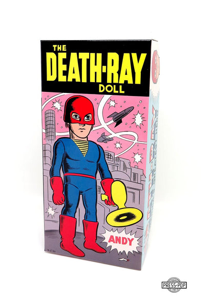 "DANIEL CLOWES ""THE DEATH-RAY DOLL"""