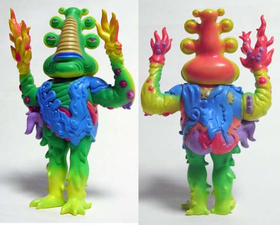 "JIM WOODRING ""SKUUVUUNUUM / KAIJIN No.1 LORBO"""