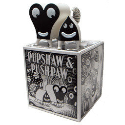 "JIM WOODRING ""B&W Pupshaw & Pushpaw doll"""