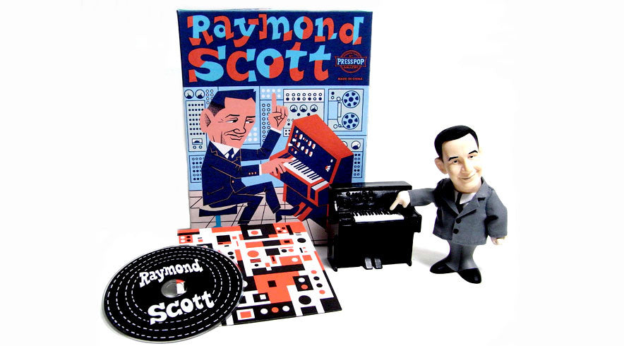 Raymond Scott 100th Anniversary doll + CD set